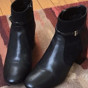 Cole Haan black booties.